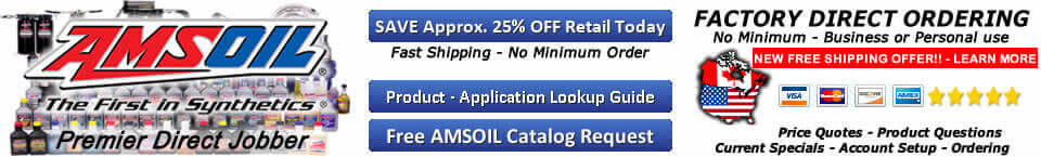 AMSOIL Synthetic Oil Technology LLC - Oil Change Products