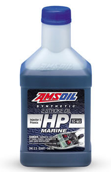 AMSOIL™ HP MARINE Synthetic 2-Cycle Oil (HPM) - Formerly hp Injector HPI